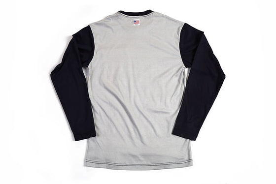 Long Sleeve FR Shirt Grey/Blue
