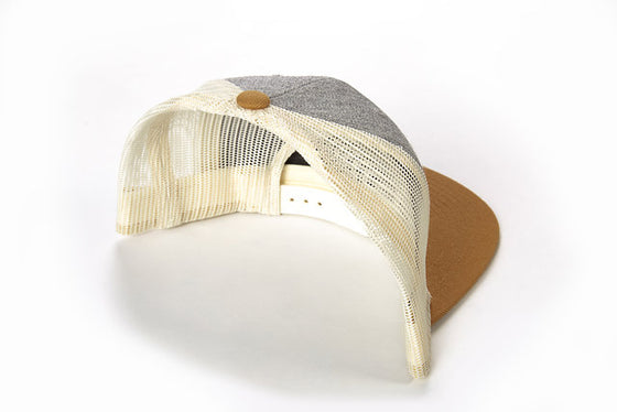 Classic Lewco - Heather/Gold Flat Brim