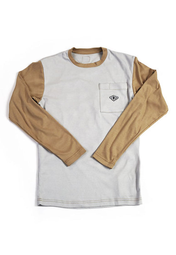 Long Sleeve FR Shirt Grey/Khaki