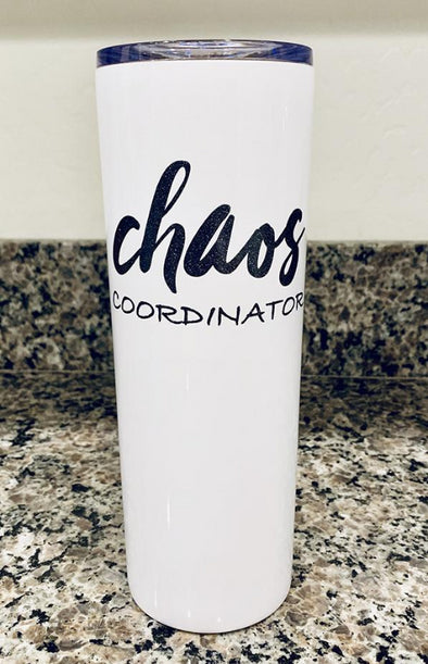 Chaos Coordinator - Stainless Steel Tumbler 22oz - Different Trends