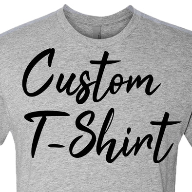 Custom T-Shirt - Different Trends