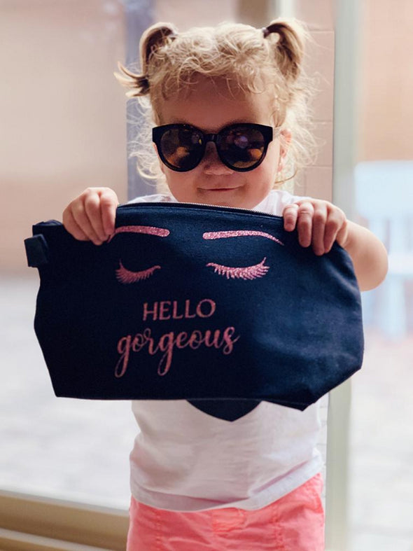 Hello Gorgeous- Makeup Bag
