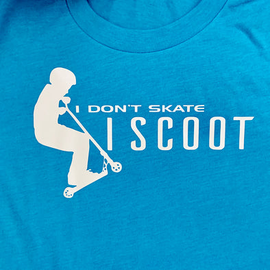 I Don't Skate I Scoot T-shirt - Different Trends