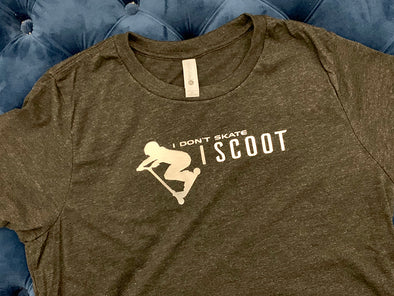 I Don't Skate I Scoot T-shirt 2 - Different Trends