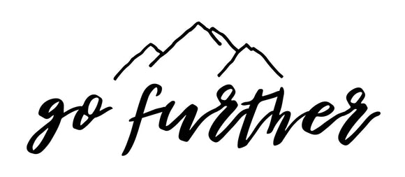 Go Further - Decal
