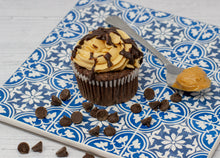 Load image into Gallery viewer, Peanut Butter Chocolate Cupcake 8-Pack