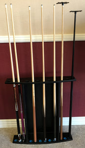 Diamond Billiards Cue Rack