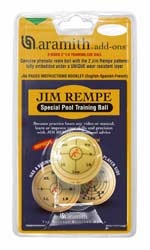 Jim Rempe Special Pool Training Ball