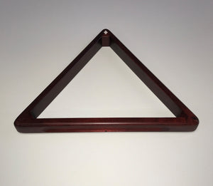 Diamond 8 Ball Oak Wood Rack