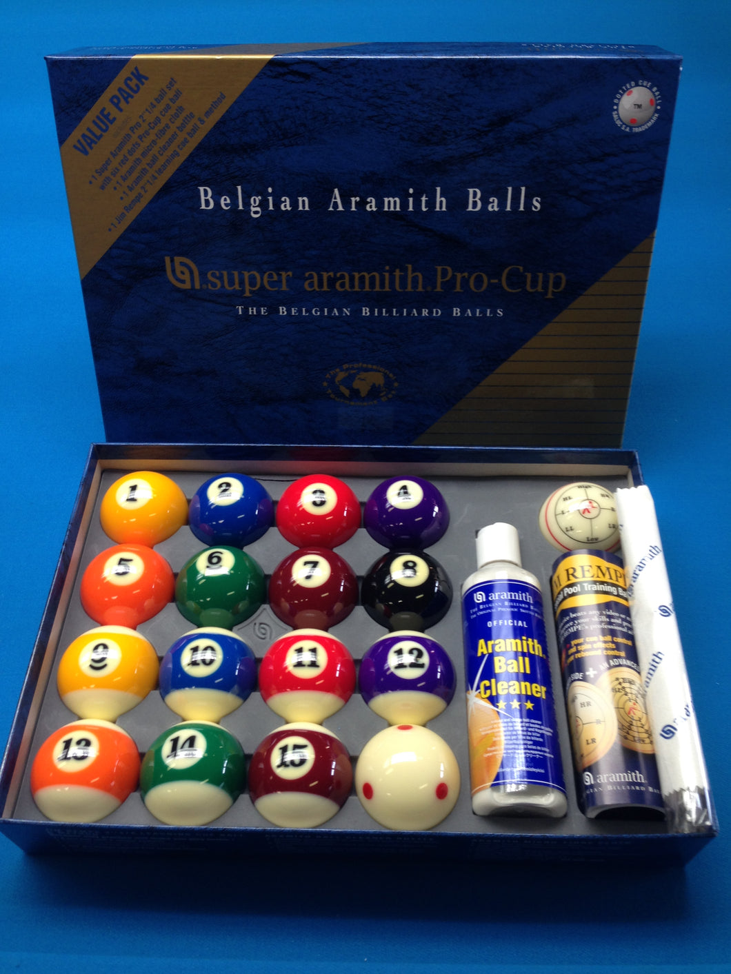 Super Aramith Pro Cup Value Pack