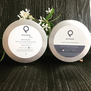 Body butter for him and her coco-lime Shea butter frankincense cedar sandalwood superhydrating