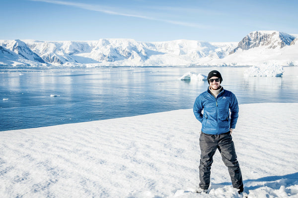 Nathan Smith In Antarctica