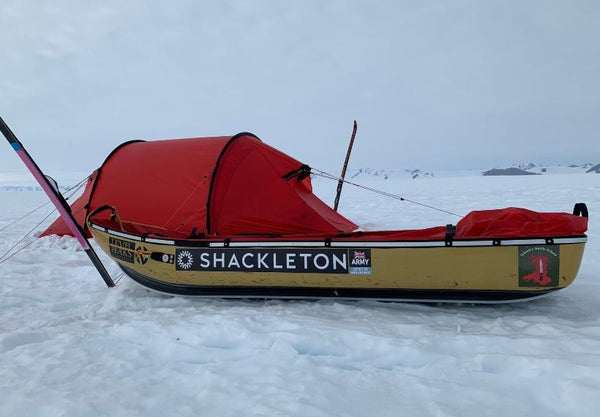 Shackleton Tent And Pulk Antarctica