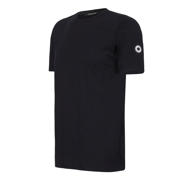 Black Coulthard Performance T shirt by Shackleton