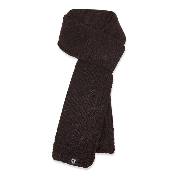 Luxury Soft Wash Wool scarf from Shackleton in brown
