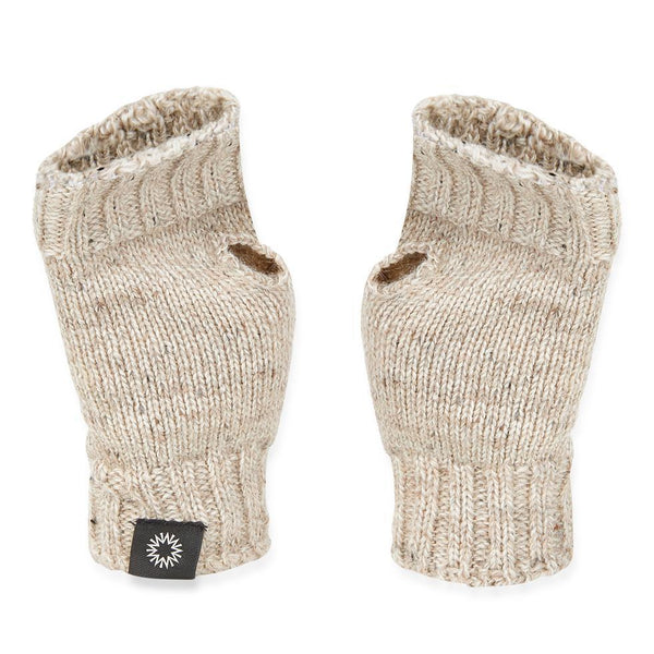 fingerless gloves and wrist-warmers by Shackleton