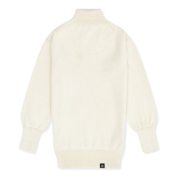 Shackleton Submariner Lambswool Roll Neck Sweater | Cream