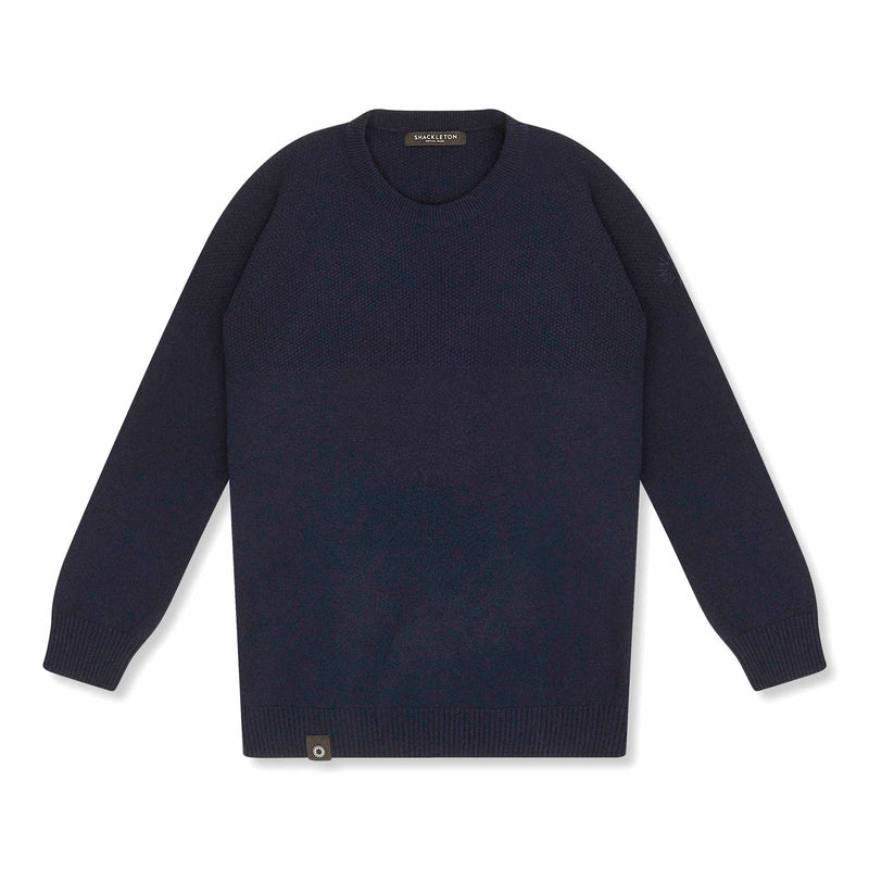Navy lambswool Dulwich