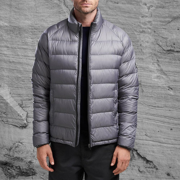 Erebus jacket from Shackleton in charcoal grey