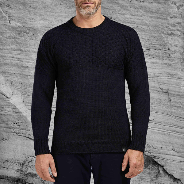 Ernest sweater in navy