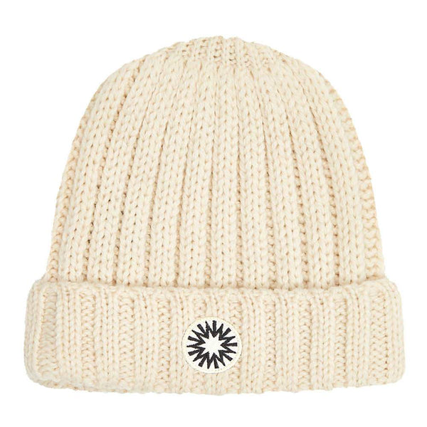 Winter White Fisherman's beanie from Shackleton