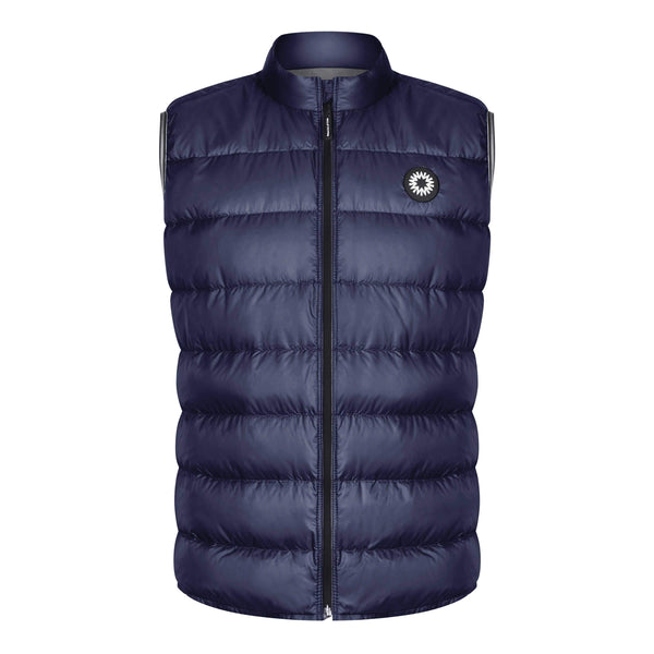 Shackleton Fortuna Lightweight Down Vest | Navy