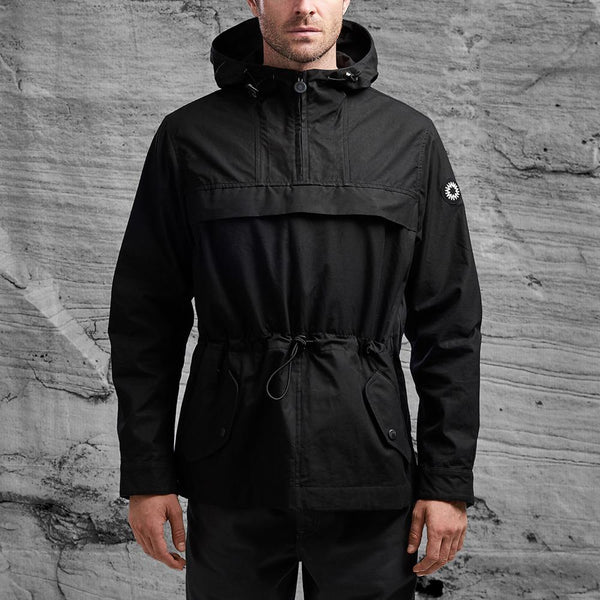 Kane jacket from Shackleton in black