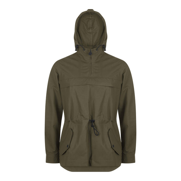 The Shackleton Kane jacket in khaki, waterproof and windproof