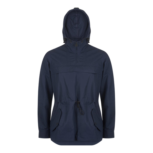 The Kane Smock Jacket from Shackleton in Navy rear profile