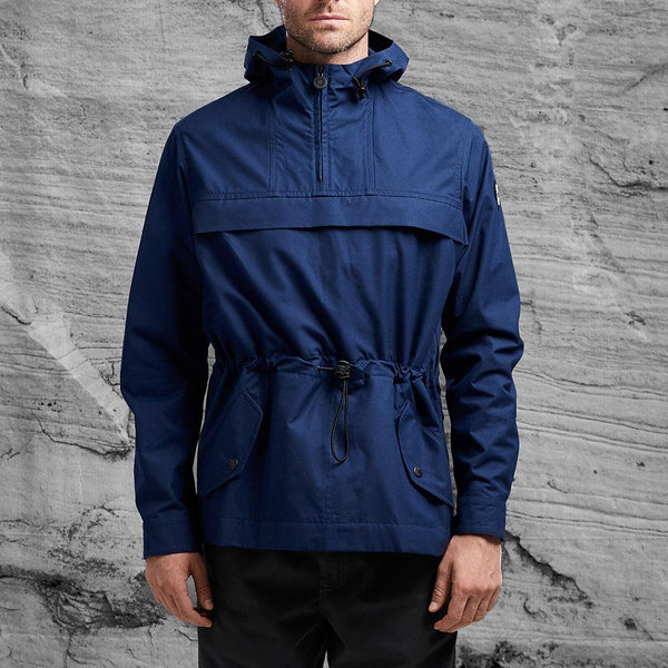 Smock style Shackleton Kane jacket in navy