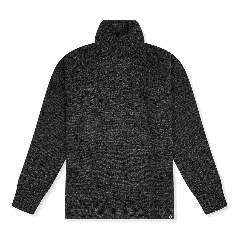 Charcoal Lambs Wool Signature Sweater