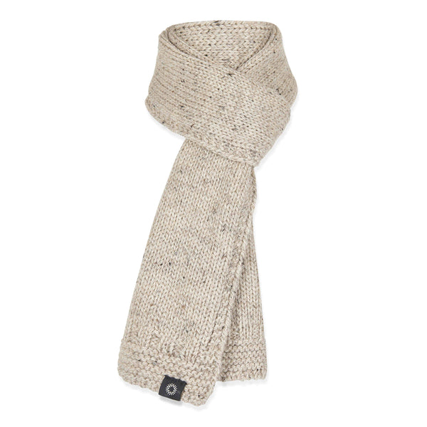 Soft Wash Wool Scarf from Shackleton in beige