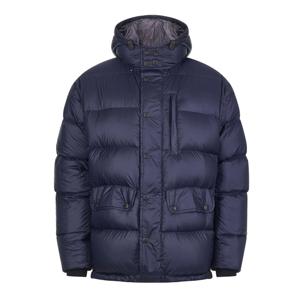 Shackleton Endurance Down Lightweight Parka Jacket | Navy