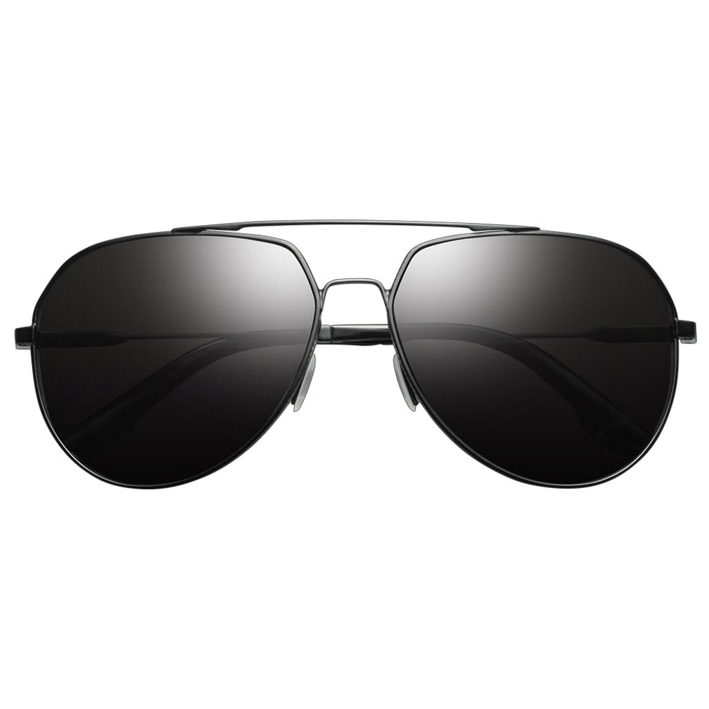 Blake: Matte Black / Grey Polarized Lens