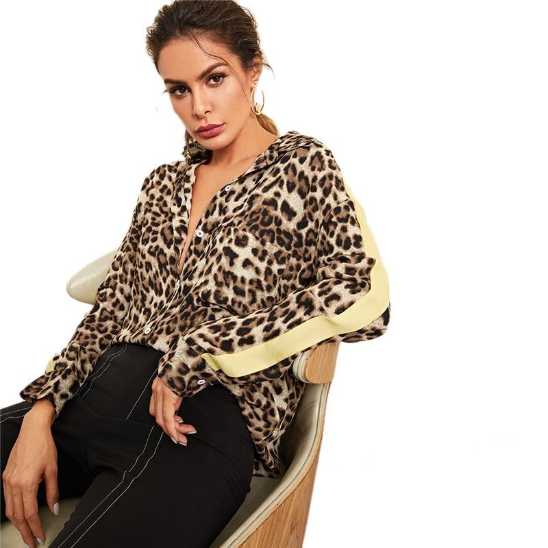Leopard Print High street Shirt