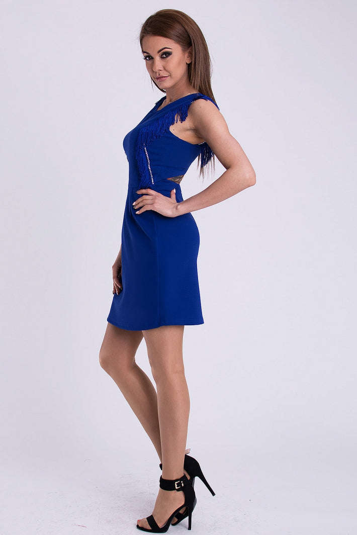 DRESS - cobalt