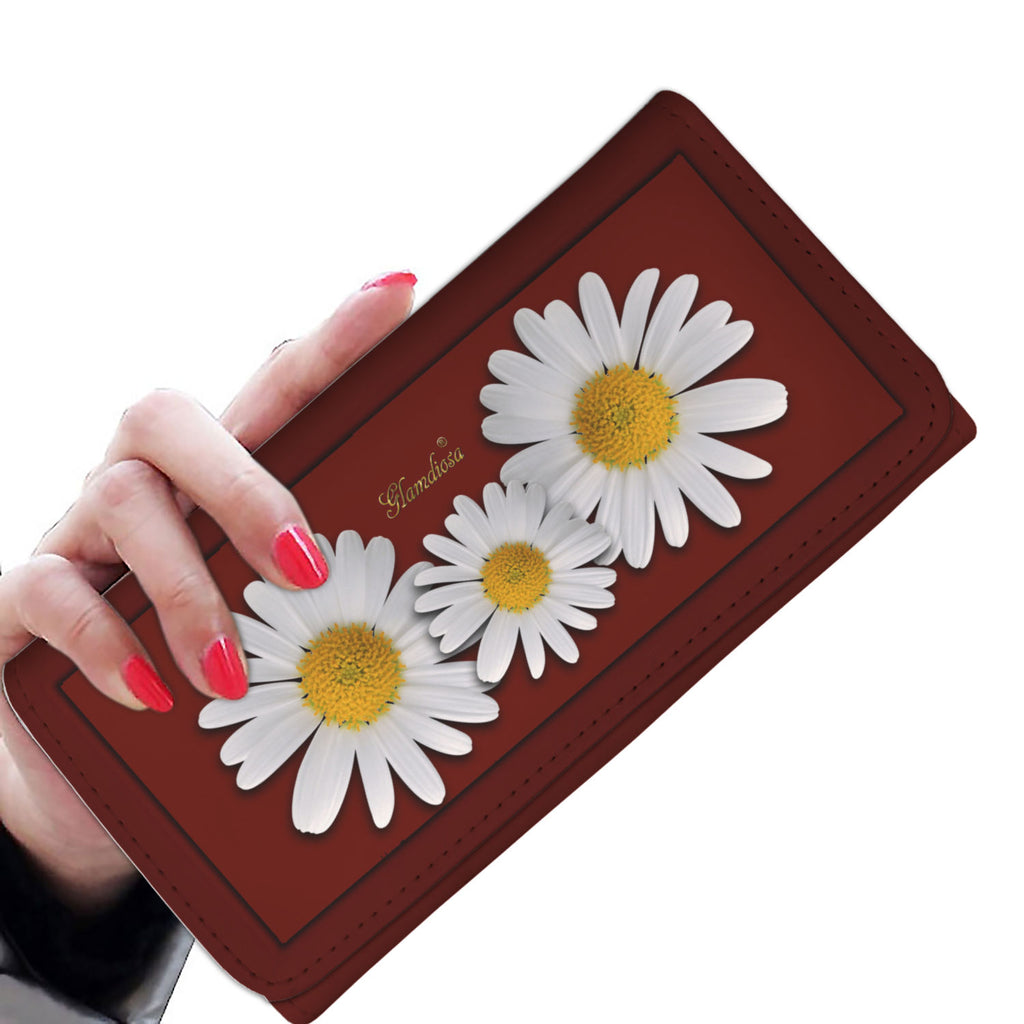 Wallet Daisys Red