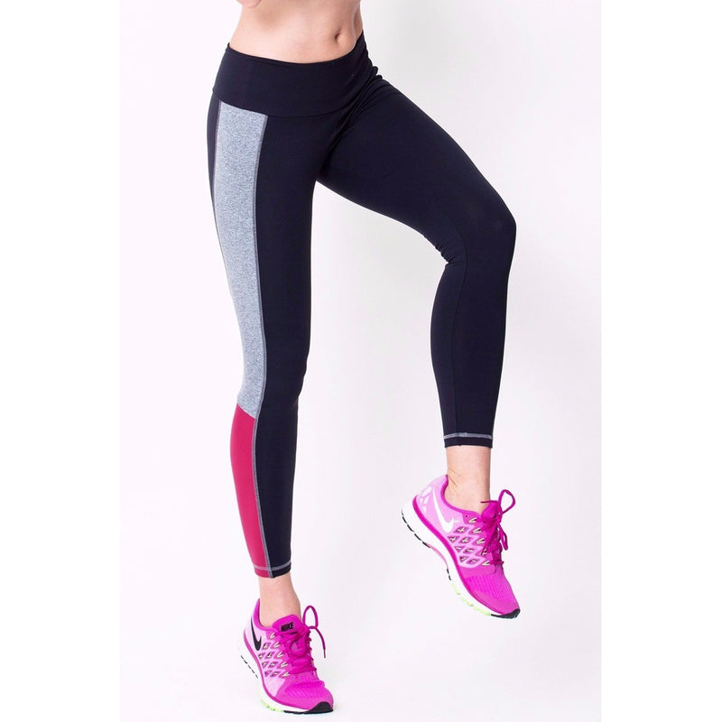 Black Contrast Legging