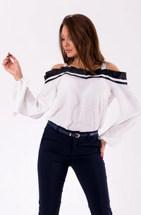 BLOUSE -WHITE