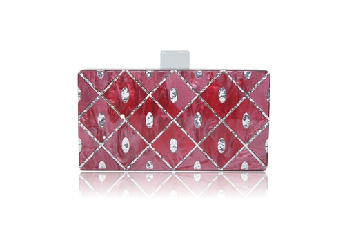 Hand Bag Red Baroque.
