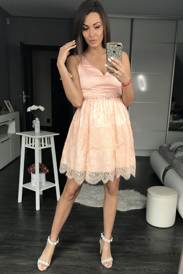 DRESS powder pink 4