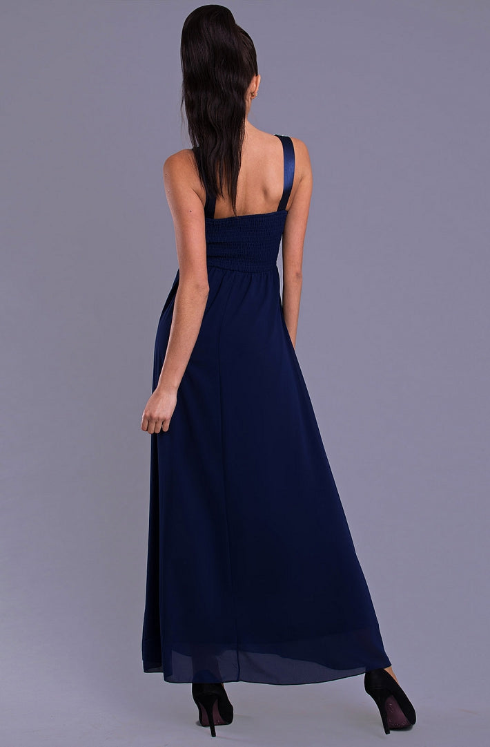 DRESS - NAVY BLUE