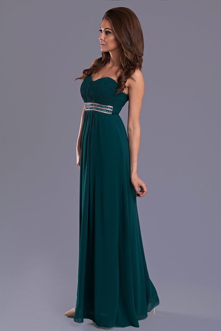 DRESS - dark green