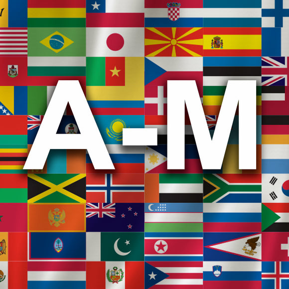 International Flags A-M