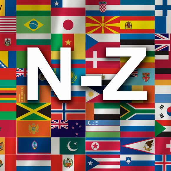 International Flags N-Z
