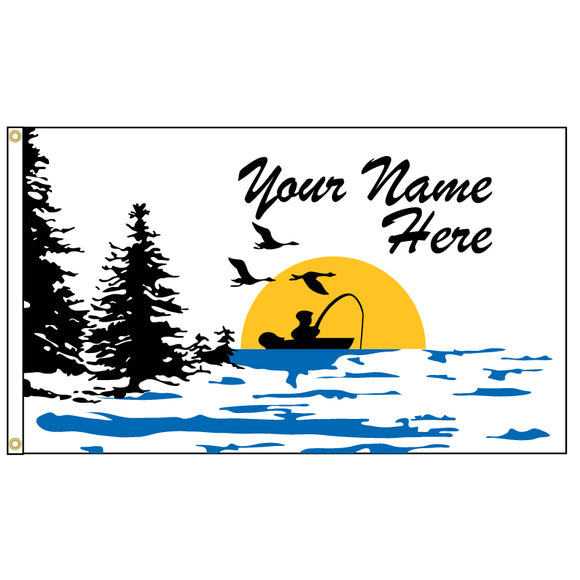 Fisherman Flag - Personalized