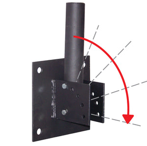 Heavy Duty Adjustable Wall Bracket for flagpoles.
