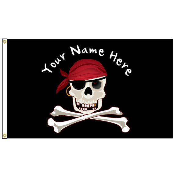 Add your name to this awesome Jolly Roger flag.