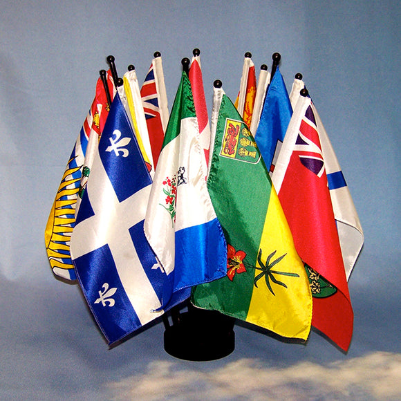 Provincial Desk Flag Set