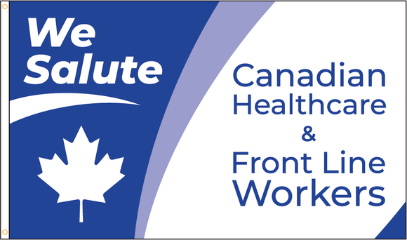 We Salute Healthcare/Frontline Workers - $25 Donation to CanadaHelps.org